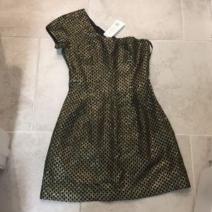 French connection one shoulder dress 8 nwt